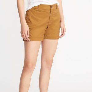 Old Navy Mid-Rise Twill Everyday Shorts